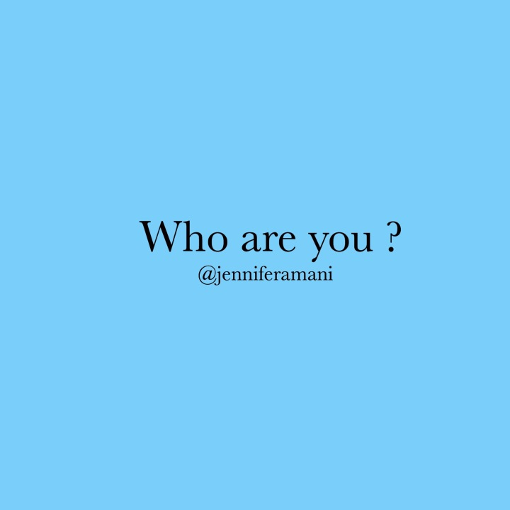 Who are you? 🤔