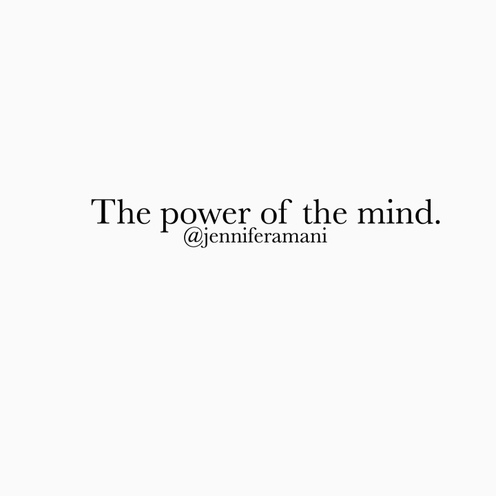 The Power of the Mind.